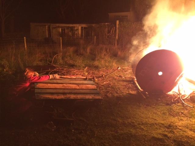 bonfire marshmallows